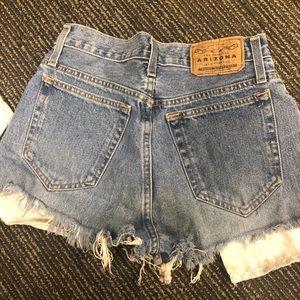 Vintage cut off shorts 29